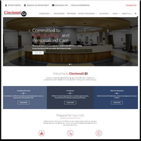 Patient conveniences...no longer optional for websites