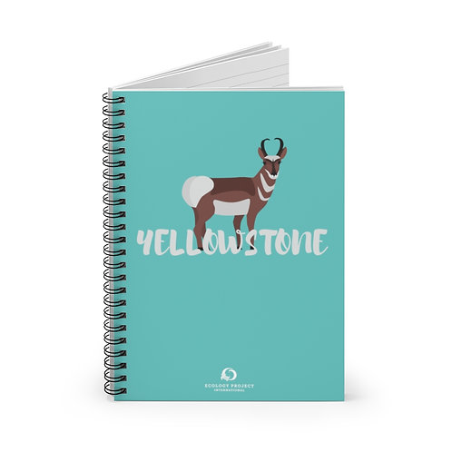 Yellowstone Spiral Notebook - Ruled Line