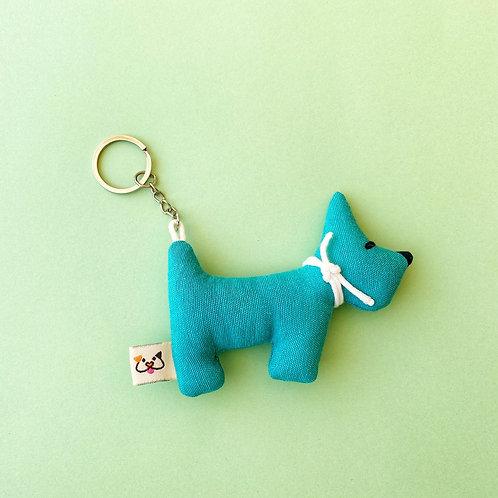Porta-Chaves Cão Azul