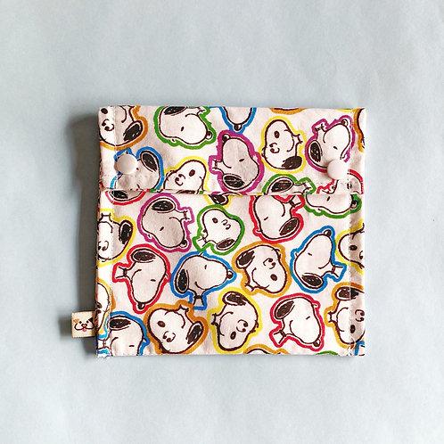 Bolsa para Máscara Social Snoopy