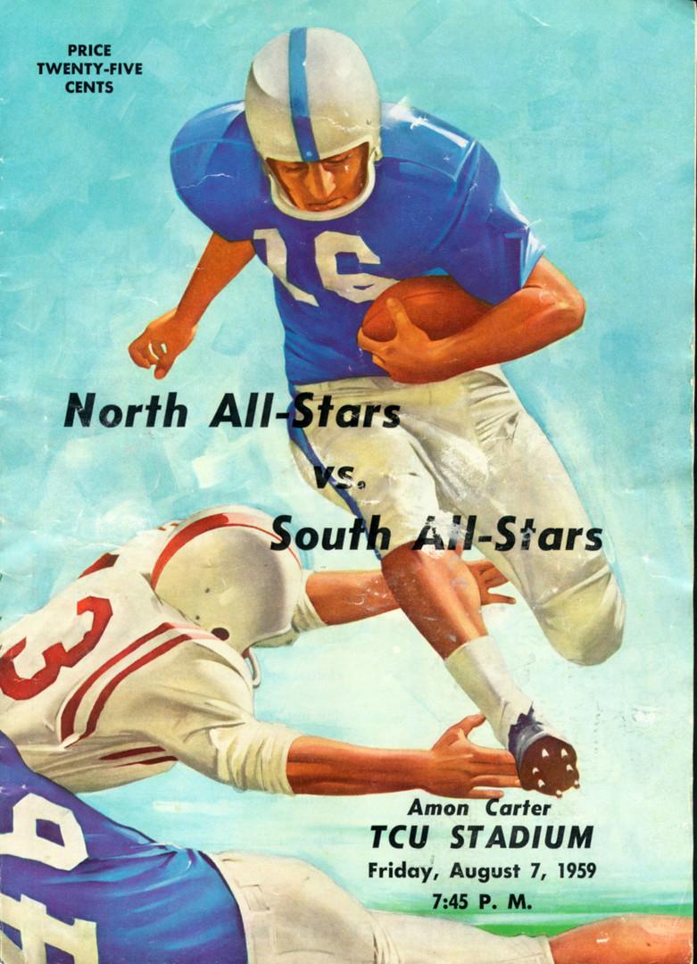1959 TSHCA All Star Game Program