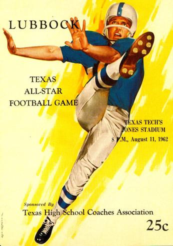 1962 THSCA All Star Game Program