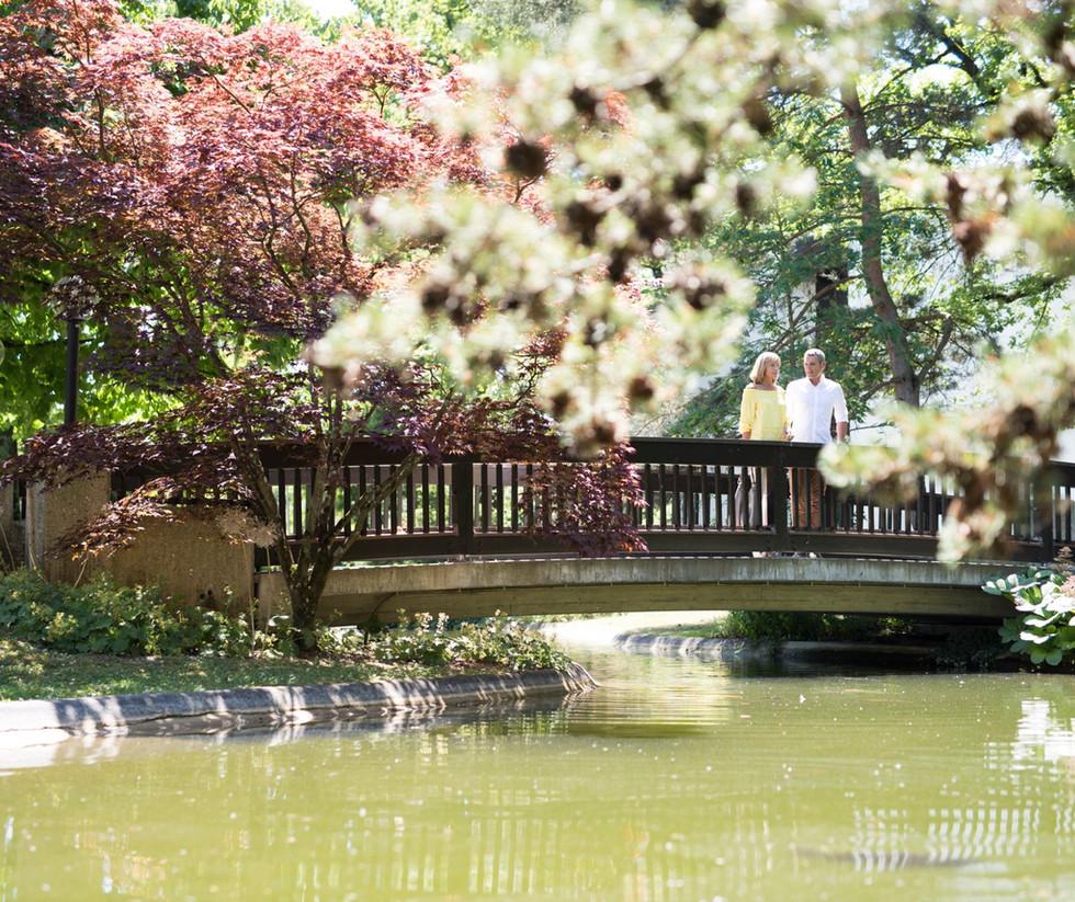 Brücke zum Kurpark