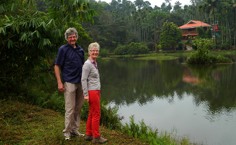 Ayurveda Kur in Kerala, Indien