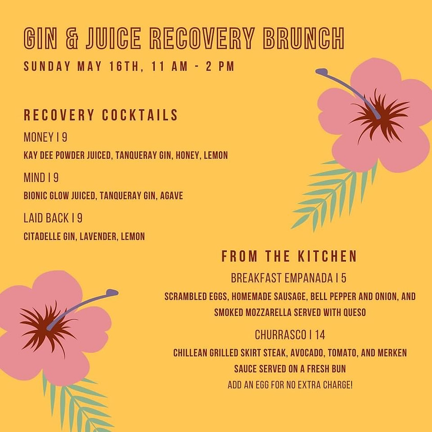 5th Year Anniversary Recovery Brunch