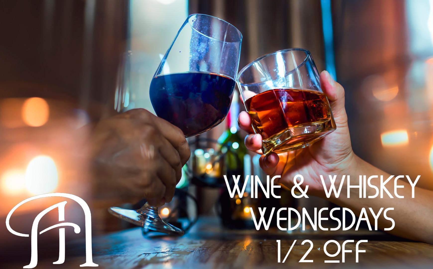 Wine Whiskey Wednesdays