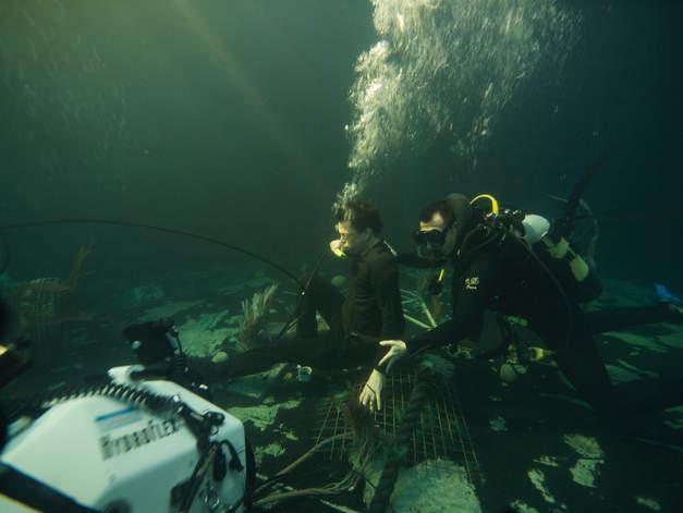 campino unterwasser im set filmyard
