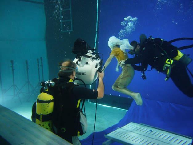 Dubai perl Dreh unterwasser unterwasser Studio filmyard