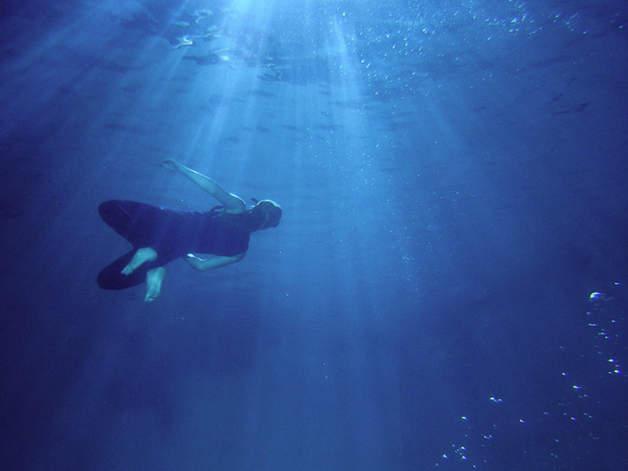 Unterwasserbecken Tiefe Film