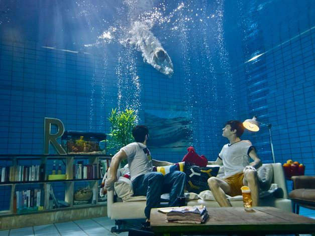 Fussball WM filmyard unterwassershooting