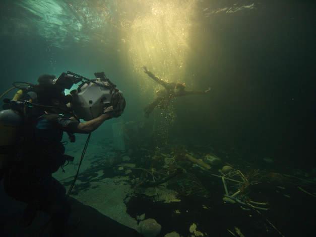 Campino Palermo shooting film unterwasser filmyard Studio