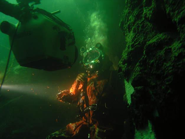 unterwasser drh Malta filmyard Tod aus der Tiefe