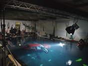 Film Studio unter wasser Auto filmyard