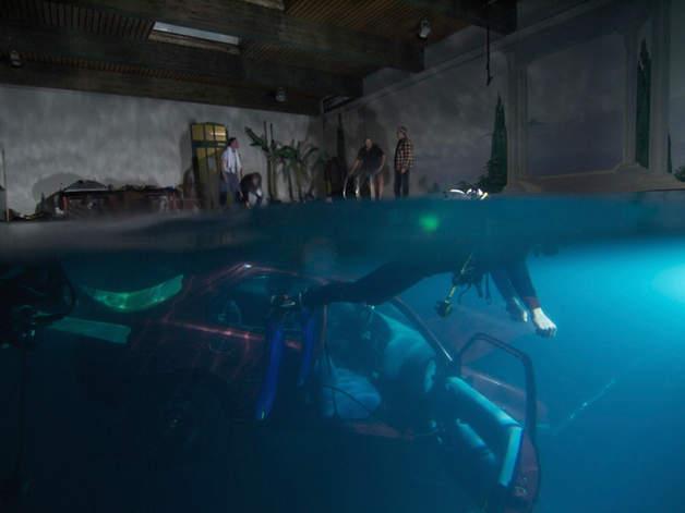 Auto unter Wasser filmyard Studio