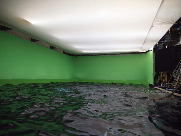 Setbau filmyard studio greenscreen