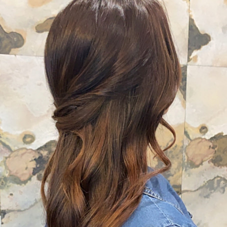 How- To: Criss- Cross Twisted Half-up Hairstyle
