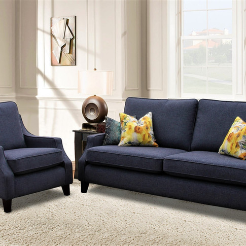 Rose 3 Seater and Chair