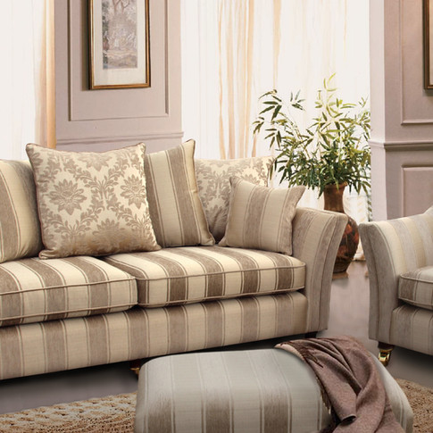 Claremont 4 Seater and Chair