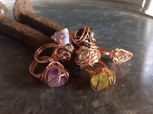 Basic Wrapped Rings