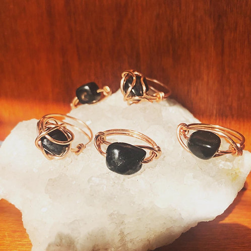 Shungite Rings