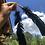 Thumbnail: Black feather earrings