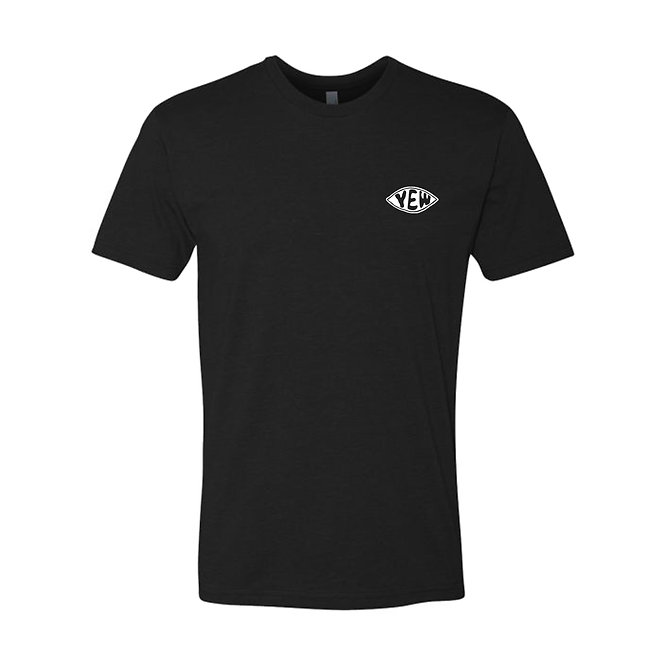 EYE TEE - BLACK/WHITE