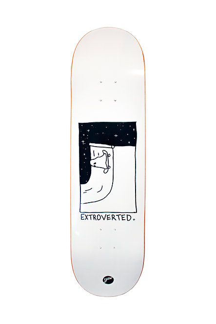 YEW EXTROVERTED DECK - 8.0