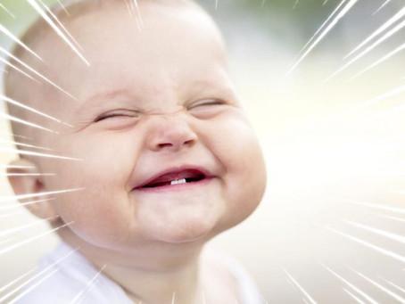 我的寶寶什麼時候長牙呢?