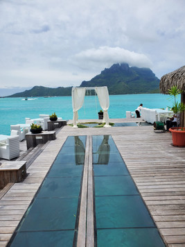 The ultimate in destination weddings...