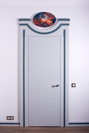 Двухстороннее дверное полотно