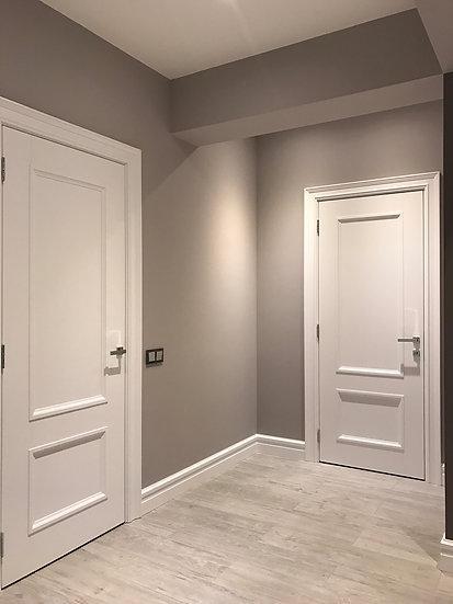 Стильные белые межкомнатные двери