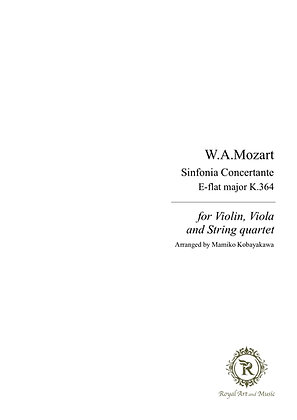 W. A. Mozart/Sinfonia Concertante in E-flat major K.364 [Download edition]