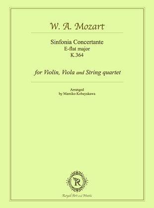 W. A. Mozart/Sinfonia Concertante K.364 [Hard copy]