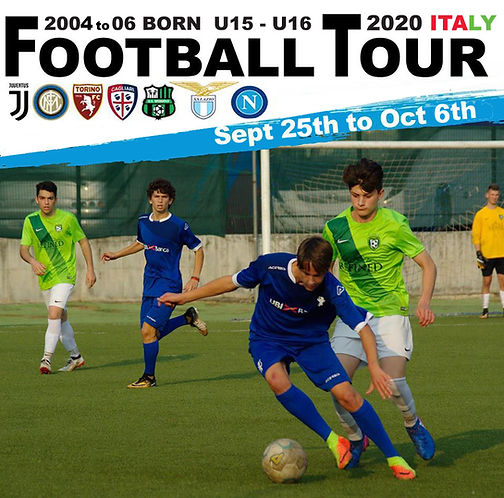 2020  Italy soccer tour 2005-06 BORN  25