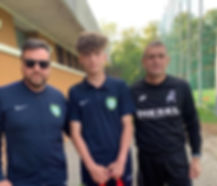 2019 Italy Football Tour Vicenza Trials.