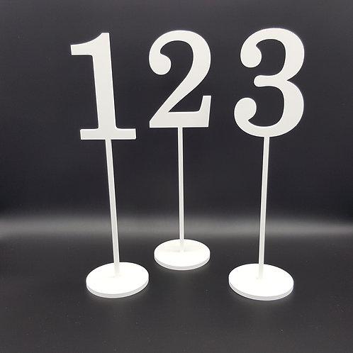 Tischzahlen 1, 2, 3...