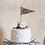 Thumbnail: Cake Topper (Wimpel) für die Hochzeitstorte V2
