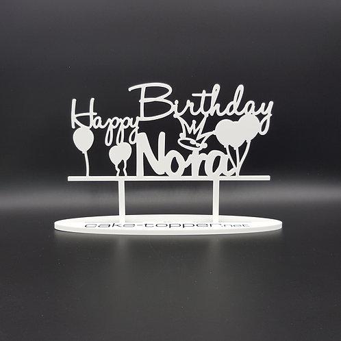Cake Topper Geburtstag V1 Ballons