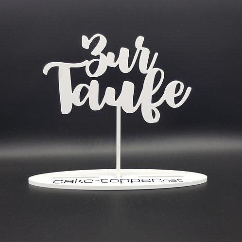 Cake Topper Taufe V4-1