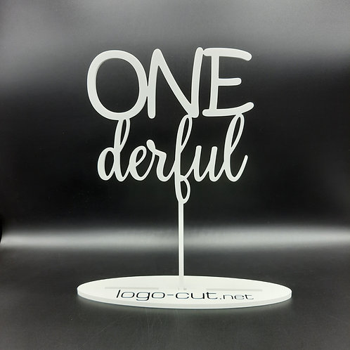 Cake Topper ONEderful