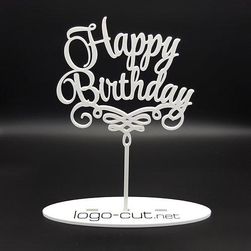 Cake Topper Happy Birthday V1