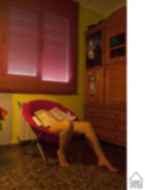 -ALBA MOZAS –    MADUREZ…0% Cargando, 2016    Fotografía sobre Papel Kodak    Dimensiones: 70x100 cm