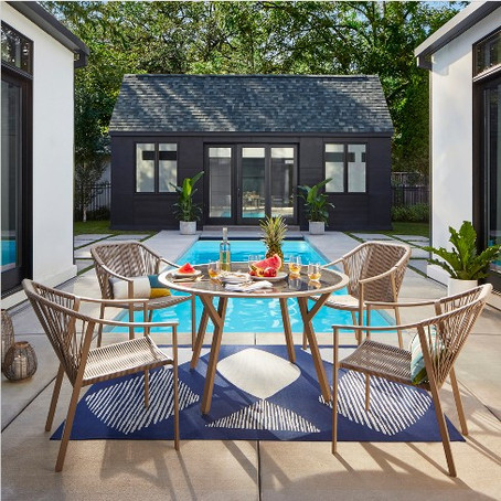 When You Realize That It's Summer & You Need An Outdoor Oasis Pronto: Our Outdoor Furniture Picks