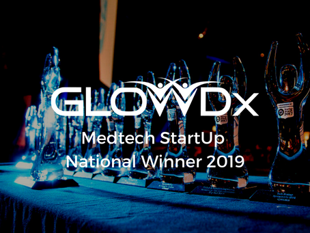 GlowDx Named National Medtech Winner at National Startup Awards