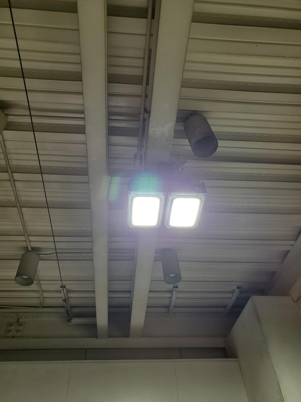 株式会社 旭研磨工業所LED照明導入