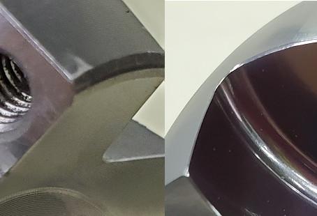 精密部品の微細バリ除去