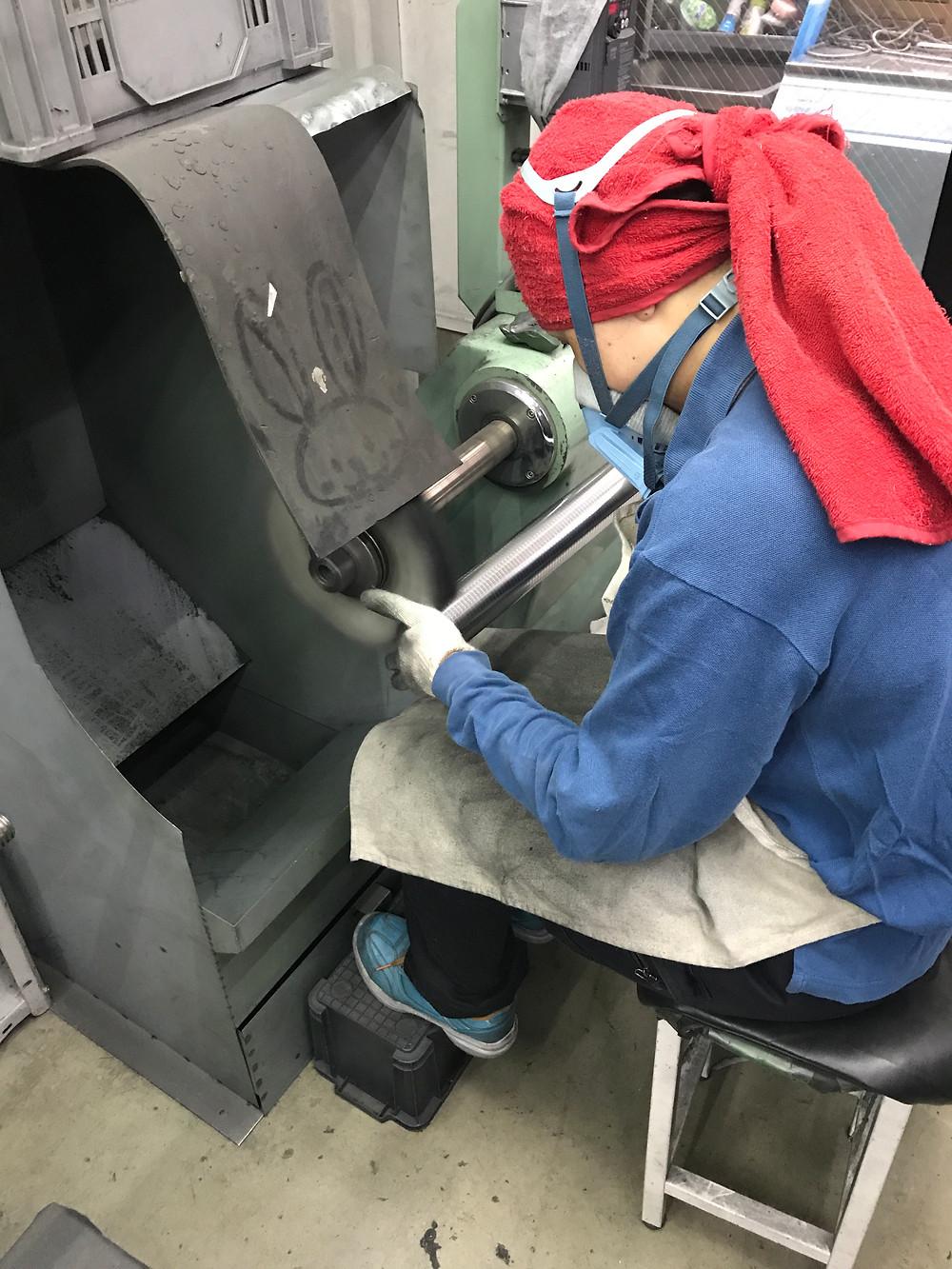 バフ研磨は大阪守口市の㈱旭研磨工業所
