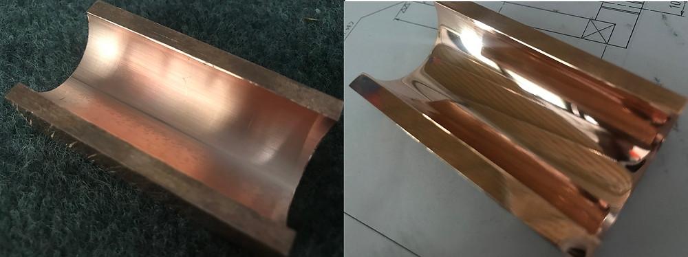 ステンレス・アルミ・チタン・銅・真鍮・炭素鋼など研磨致します。