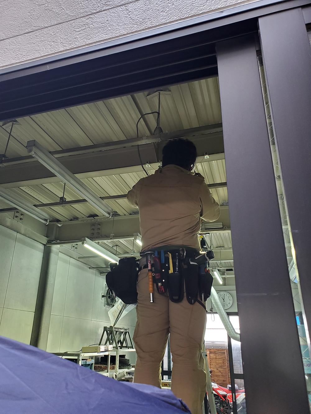株式会社旭研磨工業所LED照明導入