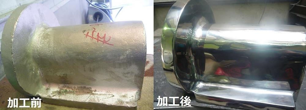 株式会社旭研磨工業所 鋳物研磨